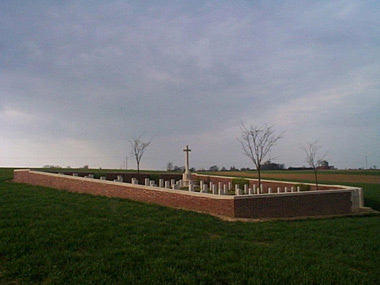 2nd canadian cemetery, sunken road #3/3