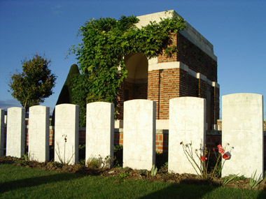 Bapaume post military cemetery #2/3