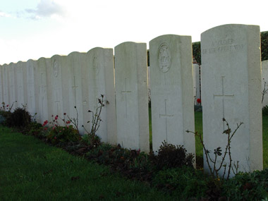 Bapaume post military cemetery #3/3