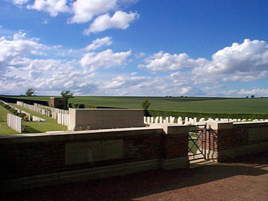 Bernafay wood british cemetery #1/3