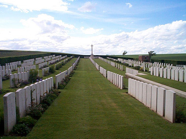 Bernafay wood british cemetery #2/3