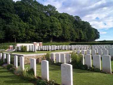 Bernafay wood british cemetery #3/3