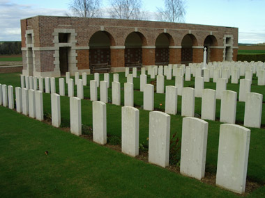 Heilly station cemetery #2/4