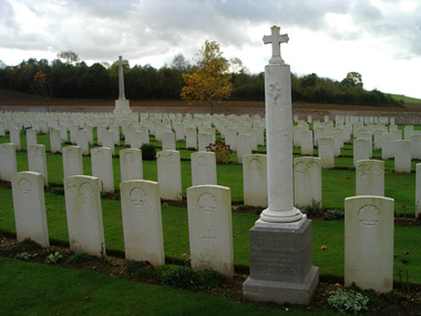 Heilly station cemetery #4/4