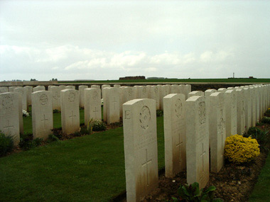 New munich trench british cemetery #3/3
