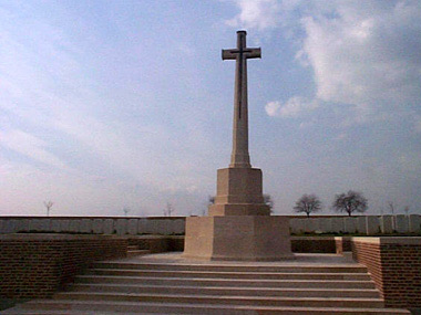 Ovillers military cemetery #1/4
