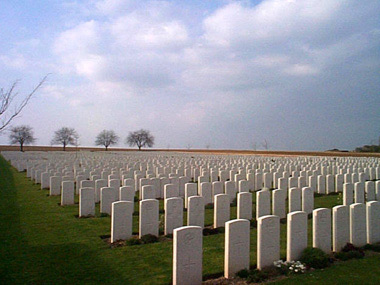 Ovillers military cemetery #3/4